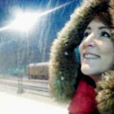 Then when we forget to wonder we have forgotten how to live! Dont let the magic disappear it is the tiny moments that count...it started snowing today on my first day in my new job. Which kind of made me laugh. I have to get up early once and be on time and it snows xD but the city looks stunning so I am glad I got to see this :) good morning everybody :D #goodmorning #snow #whitecity #portait #inspiration #snowyday #winterwonderland #winteriscoming #snowy #snowymorning #coldmorning…