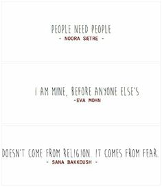 people need people #skam #noora #sana #eva