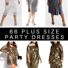 Party Dresses With Sleeves, Plus Size Party Dresses, Plus Size Fashion Blog, Plus Fashion, Dress To Hide Belly, Dresses For Apple Shape, Plus Size Shopping, Perfect Party, Sequin Skirt