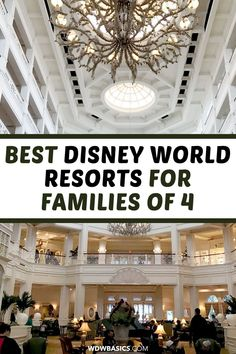 Best Disney World Resort Hotels for Families of 4 // WDW Basics // A guide to the best Disney World resort hotels for families of 4 with school age kids. This clear and concise Disney resort hotel guide will save you time! // PIN THIS and TAP TO READ #disneyworldresort #disneyworldhotels #disneyworld
