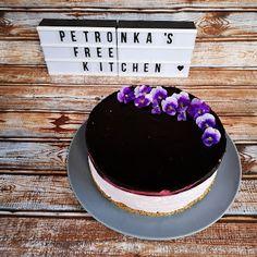 PetRonKa's free Kitchen: Sajttorta gyümölcszselével tej-, tojás-, cukor-, é... Tej, Cukor, Food Cakes, Yogurt