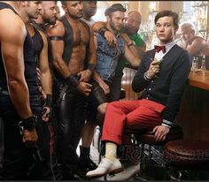 Gleeking out over this!  I just love Chris Colfer.