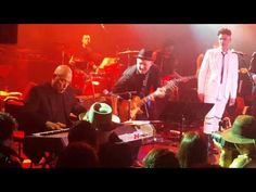 Mike Garson improvises, and Seal sings for David Bowie concert at The Roxy Theater, Hollywood, CA, USA on February 9, 2016.