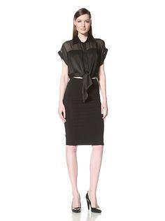 Pierre Balmain Women's Sheer Color Block Shirt with Tie Waist, http://www.myhabit.com/redirect/ref=qd_sw_dp_pi_li?url=http%3A%2F%2Fwww.myhabit.com%2F%3F%23page%3Dd%26dept%3Dwomen%26sale%3DA3SKMLZHXFJHRY%26asin%3DB009HMLA06%26cAsin%3DB009HMLASS