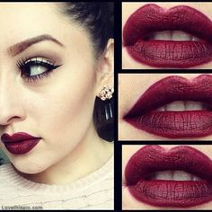 I am going to experiment with purples and red to come up with a color like this. =)