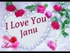 I Love You Janu Beautiful Song And Status Whatsapp Love Status Love Whatsapp Status Video Youtu I Love You Song Love You Images Beautiful Love Status