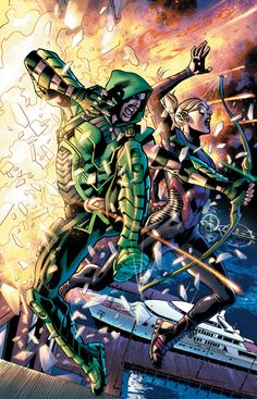 Green Arrow screenshots, images and pictures - Comic Vine