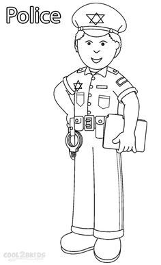 Printable Community Helper Coloring Pages For Kids | Cool2bKids
