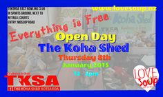 everything in the Koha Shed is #Free