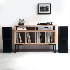Kelston Vinyl storage / Record Player Stand in natural ash by Urban Editions. Kelston Vinyl storage / Record Player Stand in natural ash by Urban Editions. Record Player Cabinet, Record Player Stand, Vinyl Record Cabinet, Vinyl Record Player, Mp3 Player, Vinyl Record Storage, Lp Storage, Record Shelf, Cabinet Storage