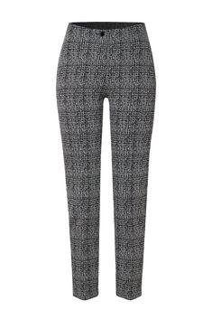 Rosner Damen Stoffhose Antonia_298 Schwarz/Grau | SAILERstyle Trends, Skinny, Elegant, Fit, Pajama Pants, Pajamas, Sweatpants, Fashion, Reach In Closet
