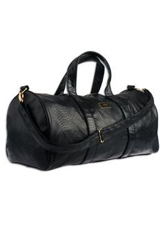 f78245deabd05a Mint Anaconda Duffle Bag ( Black ) Anaconda, Carat Gold, Storage  Compartments, Extra