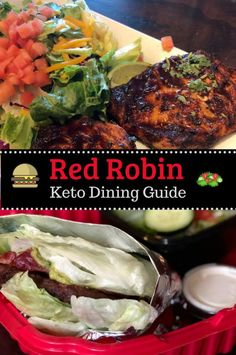 What Should I Order at Red Robin? Keto Dining Guide – What Should I Order at Red Robin? Healthy Fast Food Options, Keto Fast Food, Fast Healthy Meals, Healthy Eating, Keto Foods, Keto Meal, Red Robin Restaurant, Keto Restaurant, Restaurant Guide