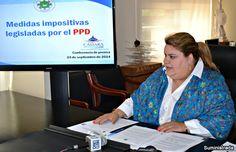 Jenniffer González alerta sobre nuevas medidas impositivas