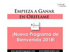 A Ponernos Guapas: Empieza a ganar con Oriflame. Programa de bienveni...