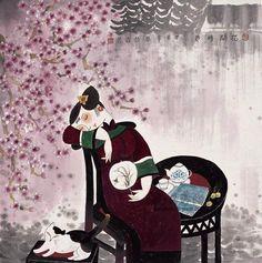王绿霞作品:花开时节23