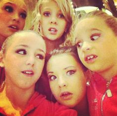 Maddie Ziegler, Chloe Lukasiak, Paige Hyland, Brooke Hyland and Mackenzie Ziegler