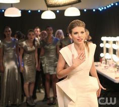 """""""Project Runway""""--AnnaLynne McCord as Naomi Clark on 90210 on The CW. Photo: Scott Alan Humbert/The CW ©2011 The CW Network. All Rights Reserved."""