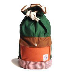 Duffle Bag - Orange/Green | DRIFE