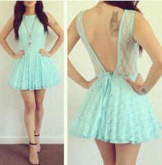 Sexy lace halter dress MX61242