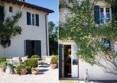 B&B entrance # country chic # farm house # B&B Cà Bianca dell'Abbadessa Bologna - ITALY #