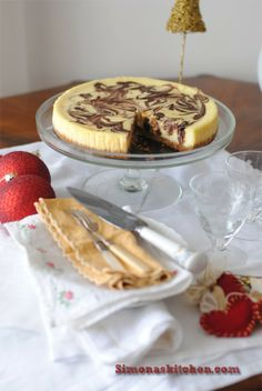 Simona'sKitchen: Cheesecake Marmorizzato di Gordon Ramsey - Gordon Ramsey Marbled Cheesecake - Le Cheesecake Marbré de Gordon Ramsey