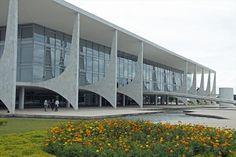 Alvorada palace, Brasilia, Oscar Niemeyer