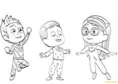 Pj Masks Coloring Pages Printable . 24 Pj Masks Coloring Pages Printable . Pj Masks to Print for Free Pj Masks Kids Coloring Pages Pj Masks Coloring Pages, Coloring Sheets For Kids, Coloring Pages For Girls, Cartoon Coloring Pages, Coloring Pages To Print, Coloring Book Pages, Printable Coloring Pages, Frog Box, Pj Masks Pajamas