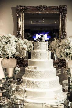 Bolo - Cake - Bolo de Casamento - Wedding Cake - Mesa de Doce - Casamento - Wedding - Inesquecível Casamento