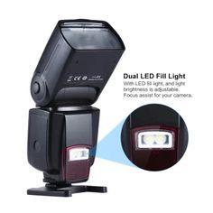 อย่าช้า Andoer โฆษณา 560Â...วาบ Speedlite ¡สากลบนกล้องแฟลช GN50 ด้วยแสง ledปรับได้เติมสำหรับ Canon Nikon Olympus Pentax DSLR กล้อง Outdoorfree ราคาเพียง 1,168 บาท เท่านั้น คุณสมบัติ มีดังนี้ With LED fill light, and light brightness is adjustable. GN50 @ISO 100: Andoer new large guide number manual speedlite,supporting M modes. High sensitivity wireless triggering sensor makes S1 and S2mode can be used in outdoor environment and the wireless triggeringdistance is as long as 15m. Turn on its…