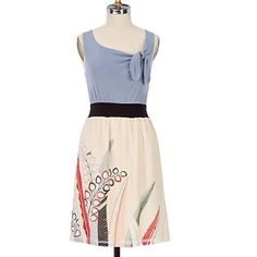 Anthropologie Mixed Media Dress By One September. Great condition. Anthropologie Dresses