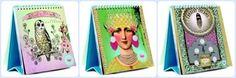 Papaya Art Desk Calendars @allespapier @hippeshops
