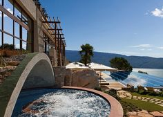 An award-winning five-star resort overlooking Lake Garda, with a lake-view suite, spa access and entrance to the Salt Lake