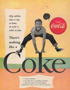 Coca-cola old, year 1955