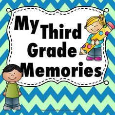 My Third Grade Memory Book. This memory book is a great product to help your students remember their fantastic 3rd grade year that they had with you! This product has many different backgrounds and pages that will give your students a variety of ways to document their year.Includes Pages*Photo page for student *Photo page for class*Photo page for my family*Photo page for best friend*Photo page for teacher*Photo page for student last day *I love my teacher*I love my best friend*I love my…