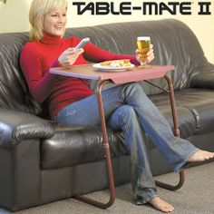 Table mate 2 is really superb!!!.... flexible to any kind of work.. is a multipurpose portable table. You can use it for eating, as a laptop table, study desk, reading, writing, drawing, arts and crafts, board games, as outdoor tray table, trade shows, gardening, patio tray table, serving table, ... or for any other purpose! visit: http://www.tbuy.in/tablemate-2.html              youtube :https://www.youtube.com/watch?v=pyfzXam055U