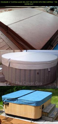 """Standard 4"""" Custom made Spa Hot Tub Cover with FREE Shipping * The Cover Guy #drone #fpv #shopping #with #products #parts #cover #plans #hot #technology #gadgets #kit #racing #tech #camera #tubs"""