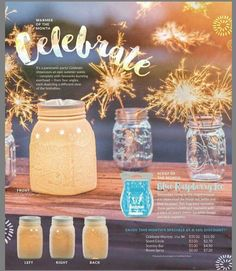 Warmer of the Month: Celebrate | #Scentsy