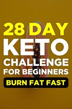 28 Day Keto Challenge, losing weight motivation, keto diet how it works, vegetarian diet to lose w - Gesundheit Lose Weight In A Week, Losing Weight, Diet Tracker, Starting Keto Diet, Gewichtsverlust Motivation, Weight Loss Goals, Fat Fast, Lose Belly Fat, Challenge