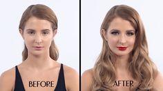 Charlotte Tilbury's The Bombshell Makeup Tutorial featuring Millie Mackintosh