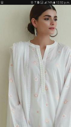 Neck Designs For Suits, Sleeves Designs For Dresses, Neckline Designs, Dress Neck Designs, Sleeve Designs, Simple Pakistani Dresses, Pakistani Fashion Casual, Pakistani Dress Design, Pakistani Outfits