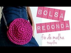 Aprenda a fazer uma linda bolsa em crochê - YouTube