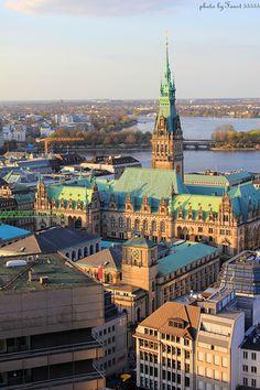Town Hall, Hamburg, Germany