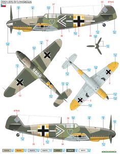 Bf 109G-2 JG 54 Color Profile and Paint Guide
