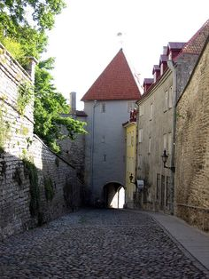 Truly one of my all-time favorite places, the Medieval city of Tallinn, Estonia, the only city untouched by WWII bombs.