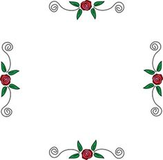 Rose Border Clip Art | Roses Clip Art Images Roses Stock Photos & Clipart Roses Pictures