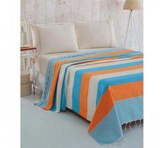 Cuvertura Pique Natural - Turcoaz/Portacale Comforters, Blanket, Bed, Natural, Furniture, Home Decor, Pique, Creature Comforts, Quilts