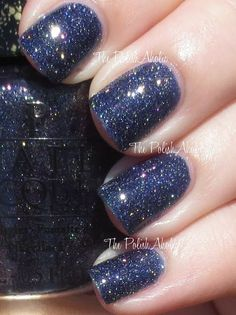 Alcatraz...Rocks with top coat. I used a coat of Nail Pattern Boldness Glitter Food topped with KBShimmer Clearly On Top for my photos. This was so pretty this way, photos just don't do it justice! Both photos below are in natural sunlight.