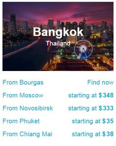 Jetradar searches travel and airline sites to help you find cheap flights at best prices. Air Tickets, Airline Tickets, Cheap Airlines, Find Cheap Flights, Chiang Mai, Bangkok Thailand, Phuket, Travel, Air Flight Tickets