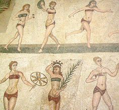 Roman underwear - because most fashion didn't evolve from nothing mamilare